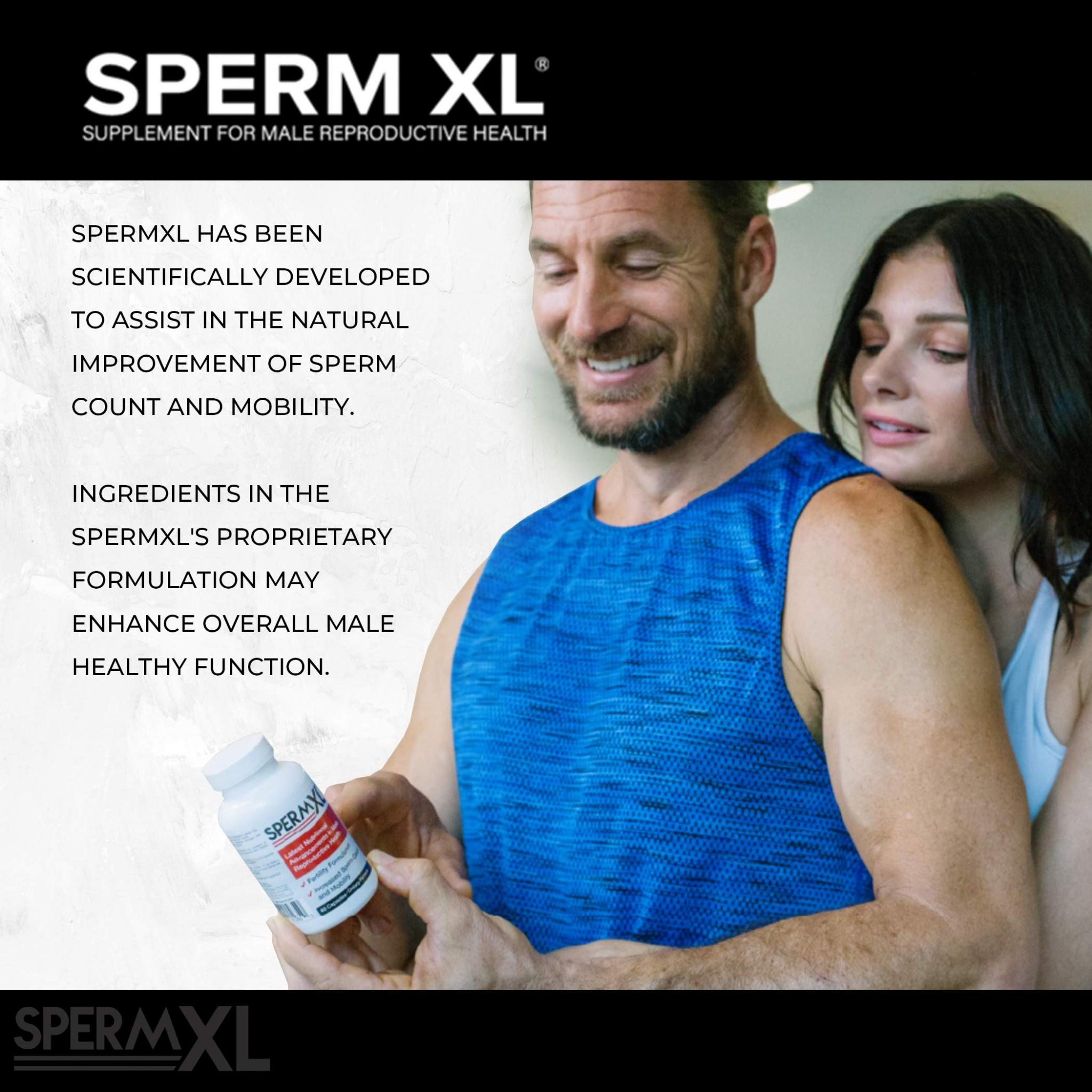 SPERM XL - Sperm-Count, Fertility & Mobility Nutritional
