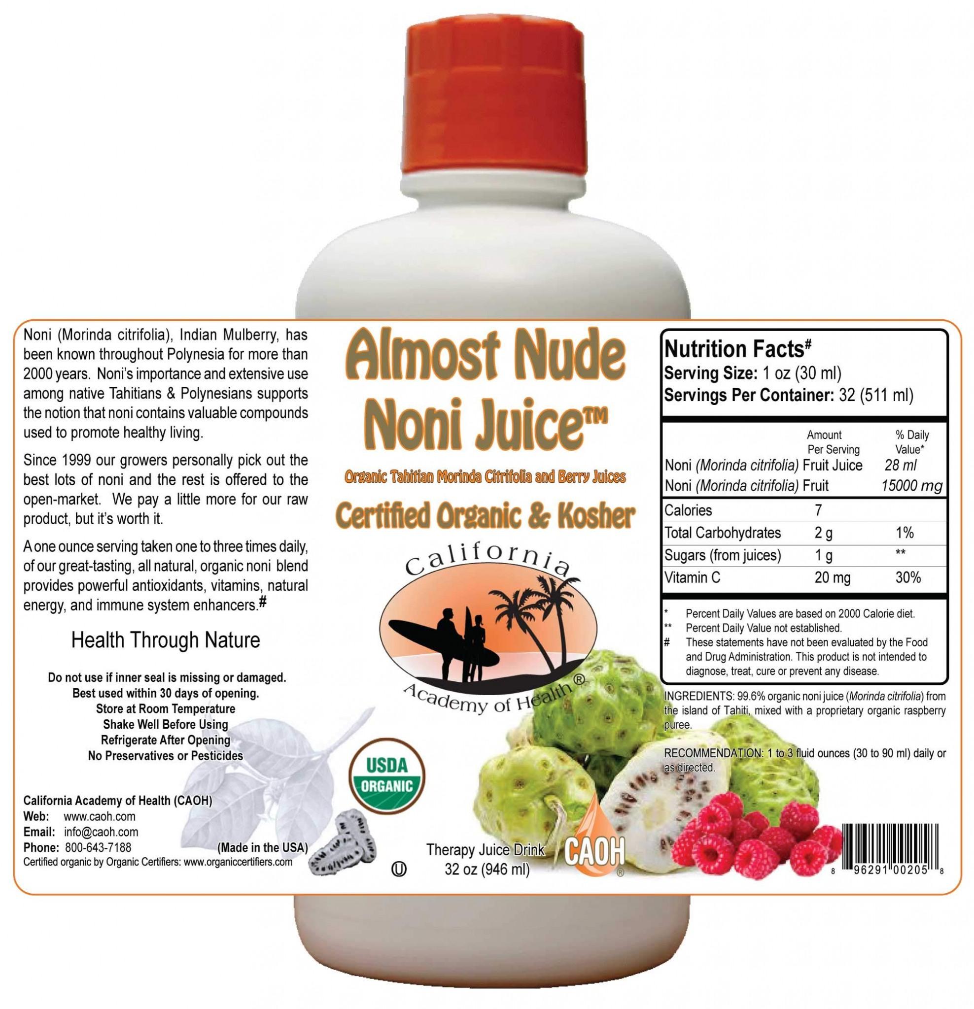 Totally Nude Noni Juice