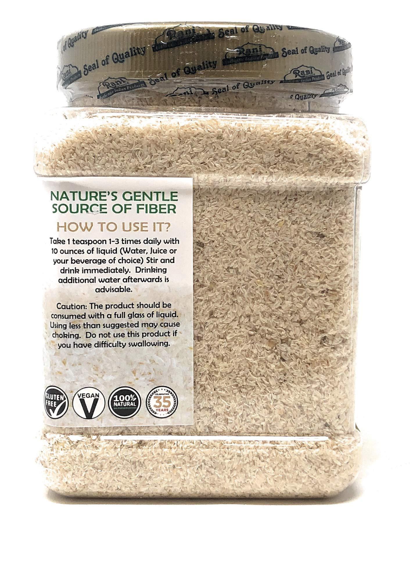 Rani Organics Psyllium Whole Husk Powder (Isabgol