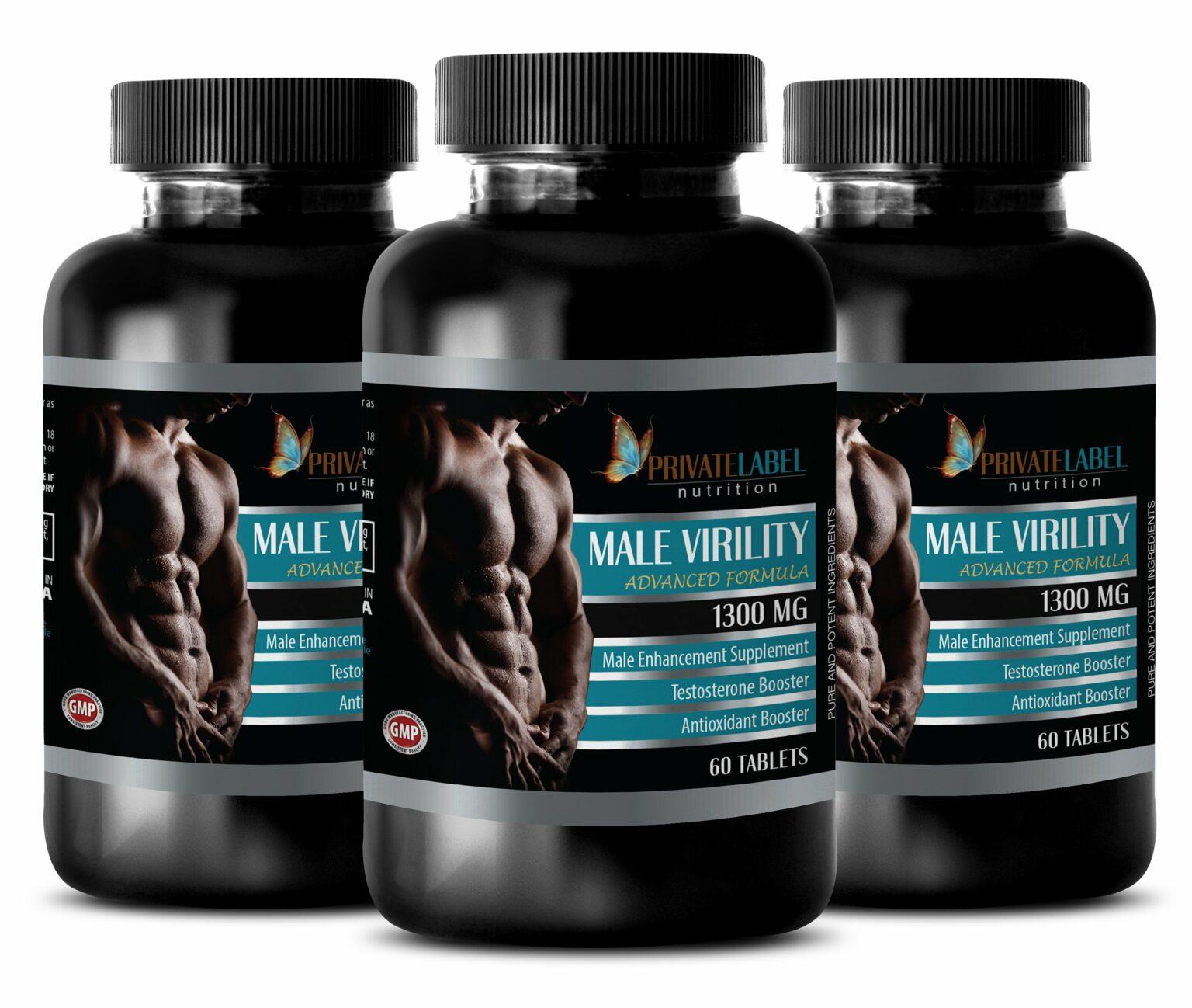 Increase Sex Drive for Men Natural - Male Virility 1300 Mg